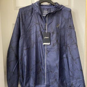 MEN'S ASICS FUJITRAIL PACK JACKET EXTRA LARGE (XL)